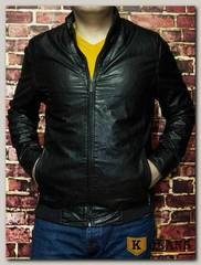 Куртка кожаная мужская ZG F73D