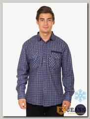 Рубашка мужская утепленная Sainge 5906-6