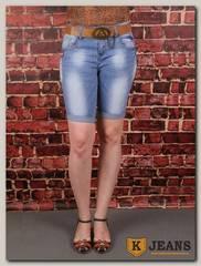 Бриджи женские джинсовые Langluka X1685W