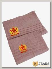 Комплект полотенец (70x140)+(50x90) КМП-5/3-4
