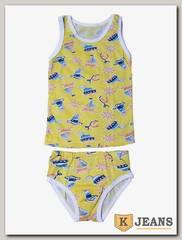 Комплект белья для мальчика Кидис КДМ-03-4